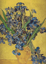 Vincent van Gogh art print 'Irises in Vase' still life art prints by King and McGaw
