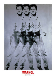 Andy Worhol artist. ' Elvis, 1963 (triple Elvis) ' Modern art posters and prints.