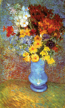 Vincent van Gogh art print 'Vase With Anemone' still life prints by King and McGaw