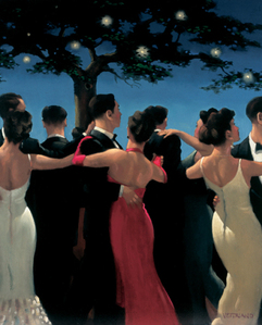 Art print by Jack Vettriano. 'Waltzers' posters and prints.