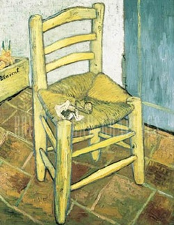 Vincent van Gogh art print 'Chair and Pipe' still life prints by King and McGaw