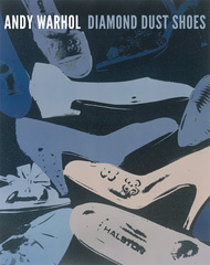 Andy Worhol artist. ' Diamond Dust Shoes, 1980-81 (blue-grey) (Special Edition) ' Modern art posters and prints.