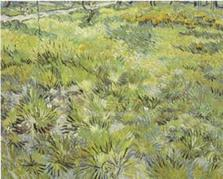 Vincent van Gogh art print 'Long Grass with Butterflies, 1890' classic prints by King and McGaw