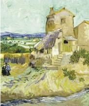 Vincent van Gogh art print 'The Old Mill, 1888' landscape prints by King and McGaw