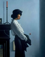 Art print by Jack Vettriano. 'Valentine Rose' posters and prints.