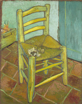 Vincent van Gogh art print 'Van Gogh's Chair' prints by King and McGaw