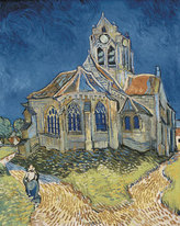 Vincent van Gogh art print 'The Church at Auvers' Landscape art prints by King and McGaw