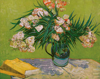 Vincent van Gogh art print 'Still Life with Oleander' still life prints by King and McGaw